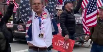 Here's A MAGA Dance Of Love For Trump At Wisconsin Quarantine Protest