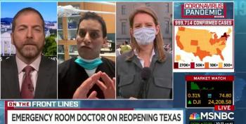 Texas Doctor Thinks States Should Open Up So People Can Catch The Virus