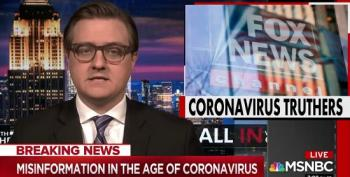 Chris Hayes Shreds 'Coronavirus Truther' Tucker Carlson And His Fox Cohorts