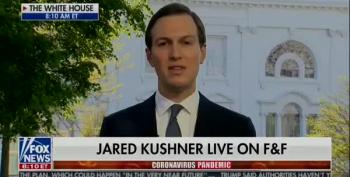 Jared Kushner Calls Trump's Response To COVID-19 A 'Great Success Story'