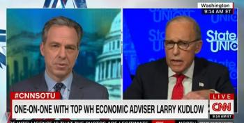 Larry Kudlow Tries To Defend His Claim That Coronavirus Was 'Contained' In February