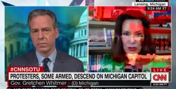Gretchen Whitmer: Michigan Protests 'Depicted Some Of The Worst Racism And Awful Parts Of Our History'