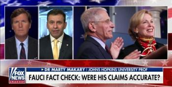 Tucker Carlson Helps Johns Hopkins Doctor Smear Anthony Fauci
