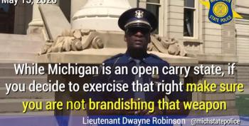 Michigan Police Will Arrest Protesters Brandishing Guns At Capitol