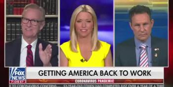 Steve Doocy Caught Lying: He Is Broadcasting From Home Because His BOSS Said So