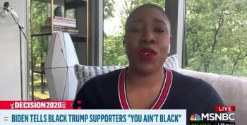Symone Sanders Cuts Chuck Todd's Concern Trolling Off At The Knees