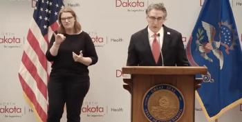 North Dakota's Governor Calls The Ideological Divide Over Masks 'Senseless'