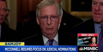 Joy Reid Trashes Mitch McConnell's Obsession With Judges