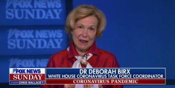 Dr. Deborah Birx Defends Trump's Refusal To Wear A Mask