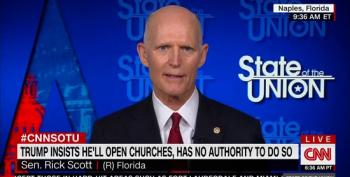 Rick Scott: 'All Americans Have A Bill Of Rights And We Have A Right To Worship If They Want To'