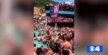 WATCH Packed Pool Party At 'Lake Of The Ozarks' Shows Crowd Ignoring Social Distancing