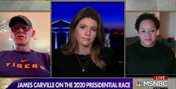 James Carville Shoots Down Kasie Hunt's Attempt To Both-Sides 'Grab 'Em By The Pu**y'