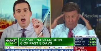 Andrew Sorkin Yells At Joe Kernen Over His Excuses For Trump