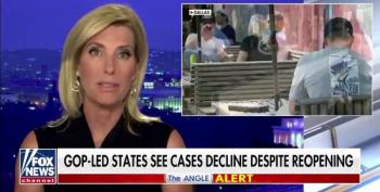 Laura Ingraham Cites Alabama As Covid Success Story Despite ICUs Running Out Of Beds