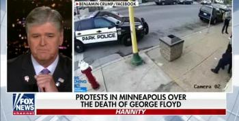 Sean Hannity Is 'Concerned' About Police Killing Of George Floyd