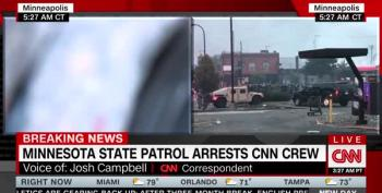 CNN Reporter Arrested, The Other One Left Alone. Guess What's Different!