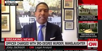 CNN Legal Analyst Nails Why 3rd-Degree Murder Is Not Enough For Derek Chauvin