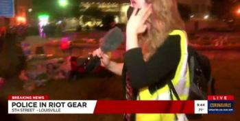 Louisville Police Open Fire On Local TV Reporter