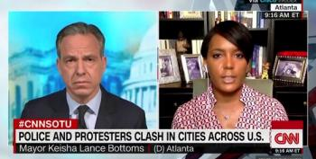 Atlanta Mayor Keisha Lance Bottoms: Trump 'Speaks And He Makes It Worse'