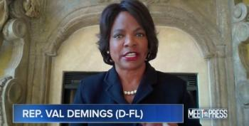 Val Demings Stomps On Trump's Lack Of Leadership Ability