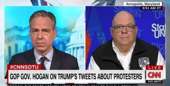 Maryland Governor Hogan Bashes Trump For Sending The 'Wrong Message' About The Protests