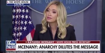 Kayleigh McEnany Lies About Trump's Attitude Toward Racism