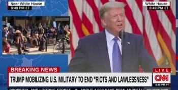 Trump Calls U.S. Military Into D.C., Threatens Insurrection Act To Invade States