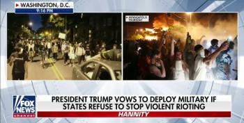 Hannity Pushes Trump To Invoke The Insurrection Act