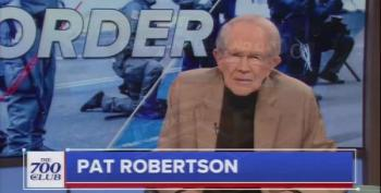 Pat Robertson Calls Trump's Actions 'Not Cool!'