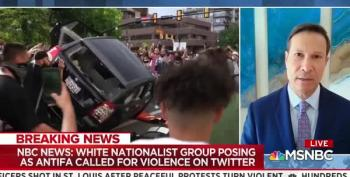 Nicolle Wallace Reports On White Nationalist Group Posing As Antifa On Twitter