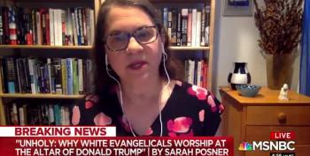 Author: 'To Evangelicals, Trump Went To The Church To Defend Religious Freedom'
