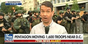 Griff Jenkins Lies About Tear Gas Being Used On DC Protesters