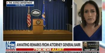 Fox News' Tarlov Cut Off While Debunking WH Lie About Antifa