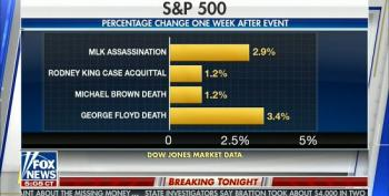 Fox Airs Graphic Showing Impact Of Murder And Assassinations Of Black Men On Stock Market