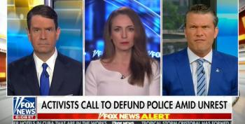 Pete Hegseth Whines That Chokehold Ban Makes It Hard For Police To Take People Down