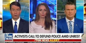 Fox Hosts Credit Military Presence For Peaceful Protests In Washington D.C.