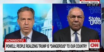 Jake Tapper Asks Colin Powell About Voters Concerned That The Democratic Party Is Moving 'Too Far To The Left'