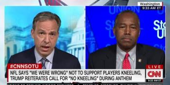 Ben Carson Denies Systemic Racism, Suggests NFL Players Need To Just Say They Love America