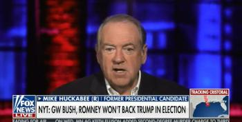 Mike Huckabee Tells Never-Trumpers To 'Get Over' Trump's 'Bedside Manner'