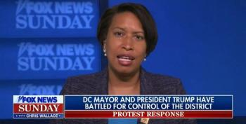 D.C. Mayor On Her Feud With Trump: 'We're Not Engaged In A Fight But We Are Engaged In A Defense Of Our City'