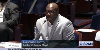 George Floyd's Brother Philonise Floyd Testifies Before Congress
