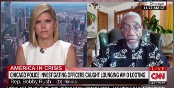Rep. Bobby Rush Eviscerates Chicago Cops Who Broke Into His Office To Nap During Protests