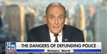 Giuliani Promotes Anti-Semitic 'One World' Government Theory On Fox News