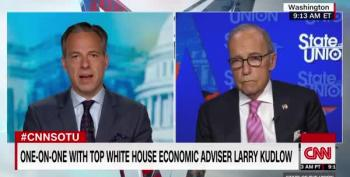 Larry Kudlow Chides Unemployed While Cushioning Wall Street, Part Infinity