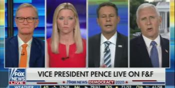 Mike Pence Brags That Fox News  Is A Pro-Trump Network