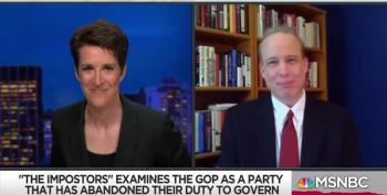 Former C&L Contributor Steve Benen: Republicans Have Abandoned Governing