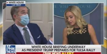 Peter Alexander Stumps Kaleigh McEnany With Question About Hiring 'Whackos'