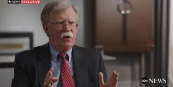 Bolton: Trump Must Be A One-Term President
