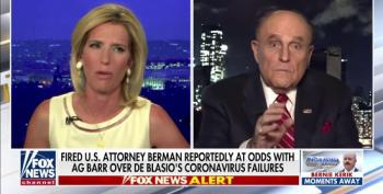 Fox's Laura Ingraham Brings On Rudy Giuliani On To Attack Ousted U.S. Attorney Geoffrey Berman