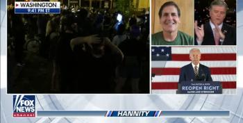 WATCH:  Mark Cuban Uses Hannity To Endorse Biden